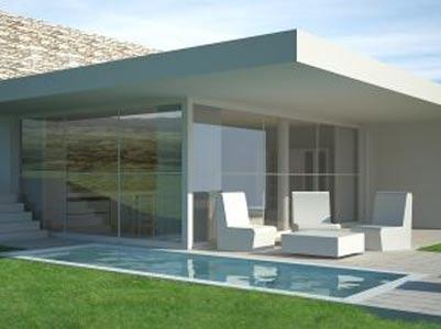 Progetti ville moderne for Case moderne colori esterni